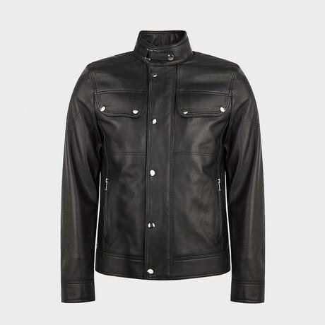 Lucas Biker Jacket // Black (XS)