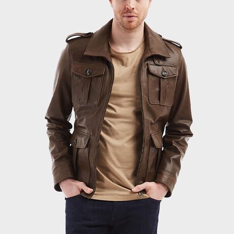Sebastian Pocket Jacket // Olive (XS)