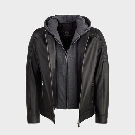 James Biker Jacket // Black (XS)