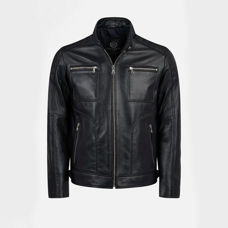 Mateo Biker Jacket // Black (XS)