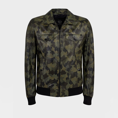 Levi Bomber Jacket // Camouflage (XS)