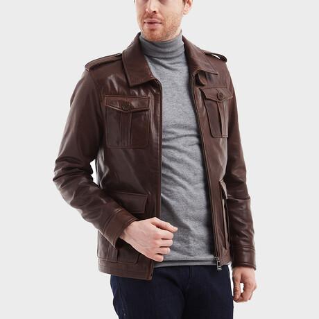 Sebastian Pocket Jacket // Chestnut (XS)