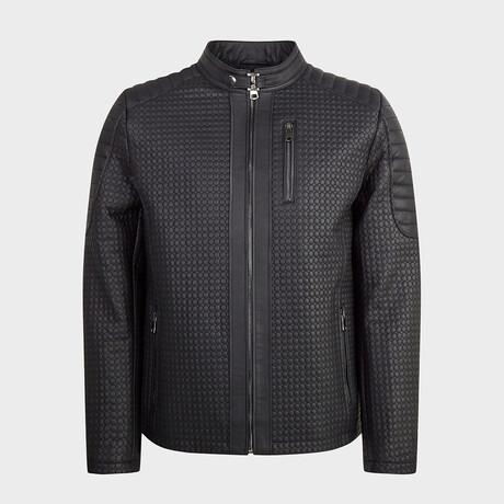 Liam Biker Jacket // Black (XS)