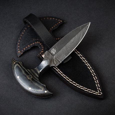 Monk's Dagger Handmade Damascus Steel Dagger