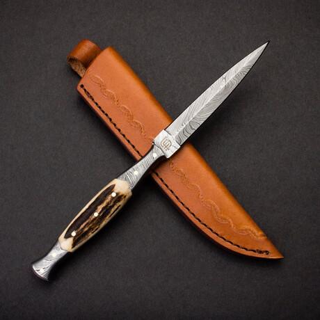 Morgan Le Fay Damascus Steel Dagger Letter Opener