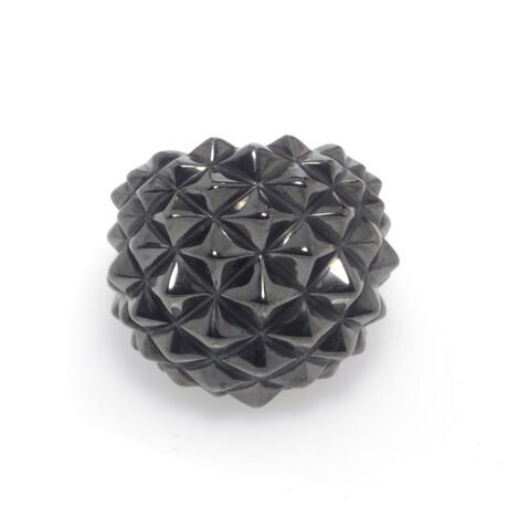Stephen Webster // Superstud Sterling Silver + Black Rhodium Ring // Ring Size 7 // Store Display