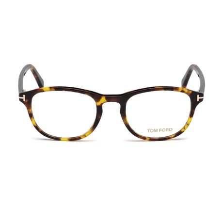 Men's Unisex Oval Optical Frames // Havana