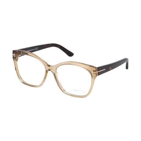 Women's Cat Eye Frames // Beige Havana