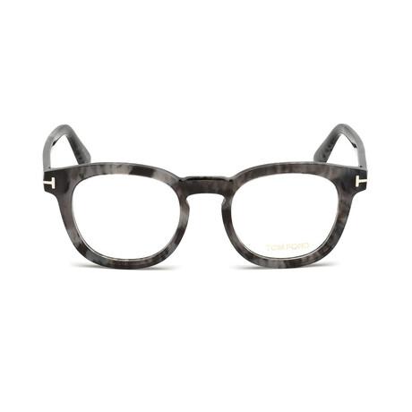 Men's Squared Optical Frames // Gray Havana