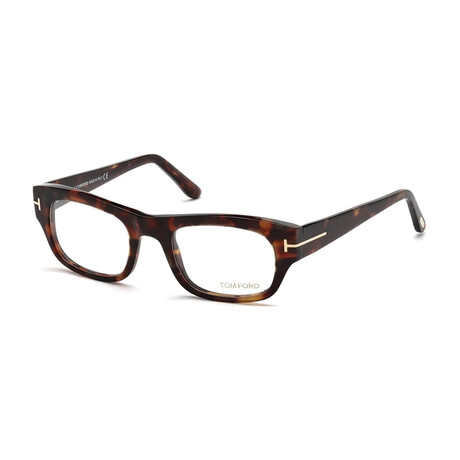 Women's Squared Optical Frames // Brown Crystal