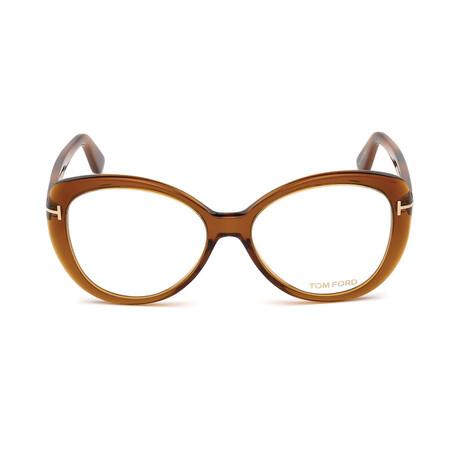 Women's Cateye Optical Frames // Brown