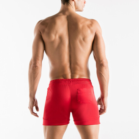 Active Short // Red (S)