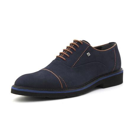 Keaton Derby Shoe // Dark Blue (Euro: 39)
