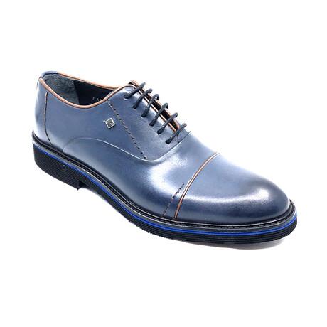 Keaton Derby Shoe // Navy Blue (Euro: 39)