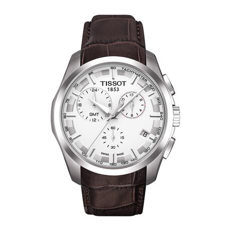 Tissot Couturier GMT Swiss Quartz // T0354391603100