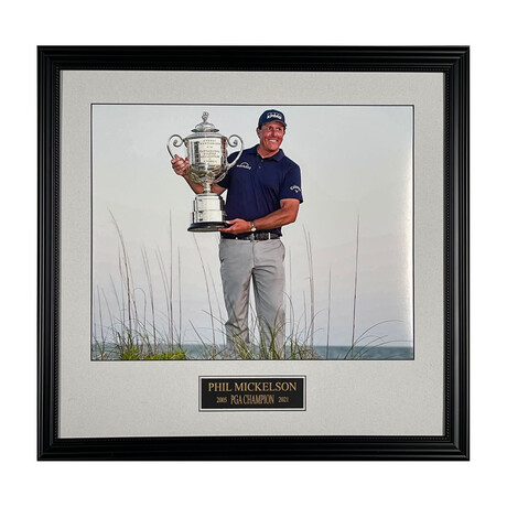Phil Mickelson // PGA 2021 // Collectible Display