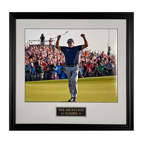 Phil Mickelson // 2021 PGA // Collectible Display