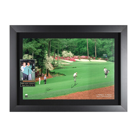 Nicklaus + Palmer // Hole 13 // Autographed Display