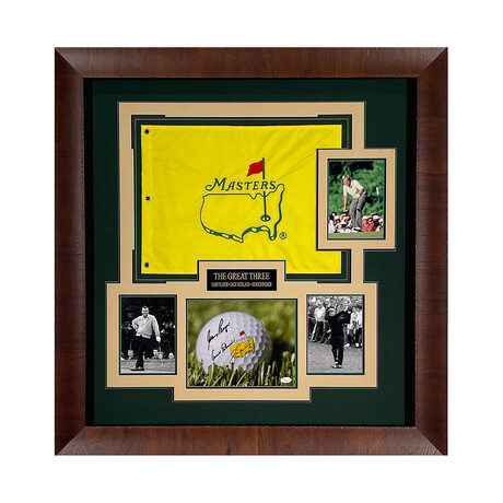 The Great Three // Autographed Display