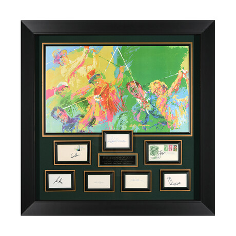 Legends of Golf // Autographed Display
