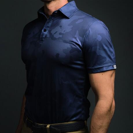 Men's Golf Polo // Dark Camo (S)