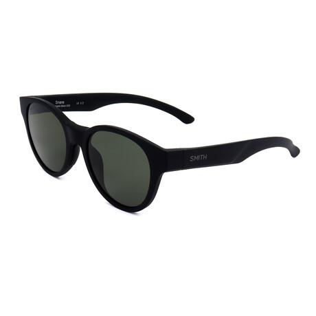 Unisex Snare Polarized Sunglasses // Matte Black