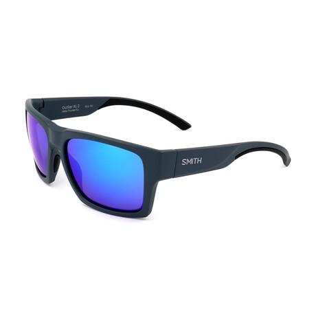 Men's Outlier Sunglasses // Matte Blue