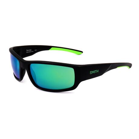 Men's Survey Sunglasses // Matte Black