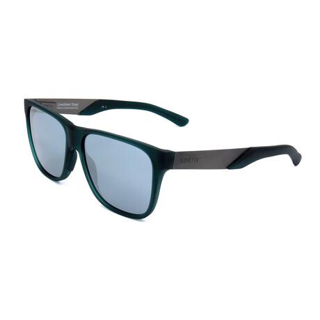 Men's Lowdown Sunglasses // Matte Green + Military Green