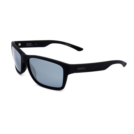 Unisex Wolcott Polarized Sunglasses V.I // Matte Black
