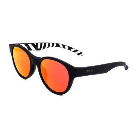 Unisex Snare Sunglasses // Black + Pink