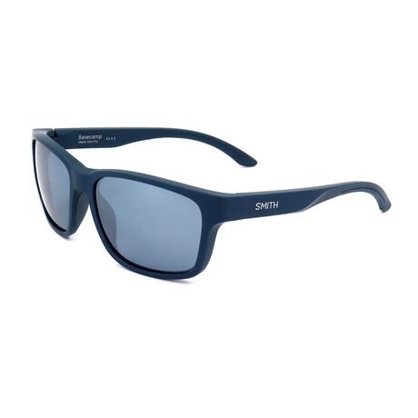 Men's Basecamp Polarized Sunglasses // Matte Blue