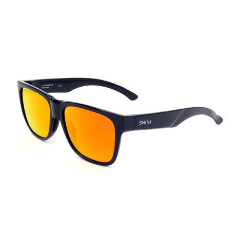 Unisex Lowdown Sunglasses // Blue + Orange