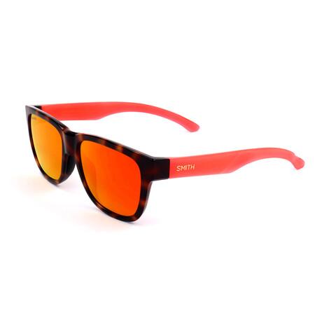 Smith // Unisex Lowdown Sunglasses // Pink + Havana