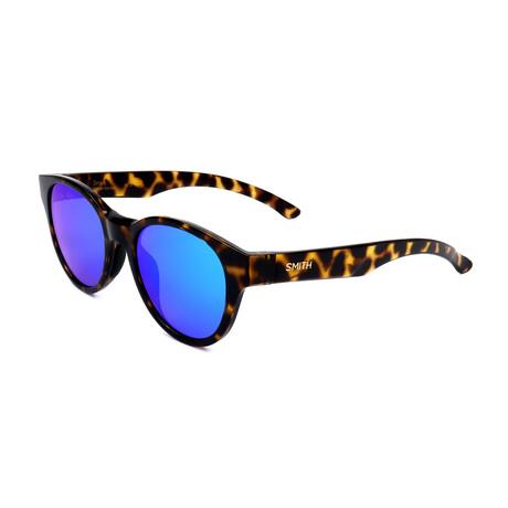 Unisex Snare Sunglasses // Brown Havana + Blue