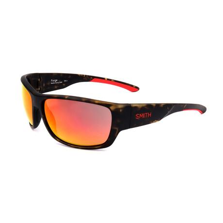 Smith // Men's Forge Sunglasses // Havana + Orange