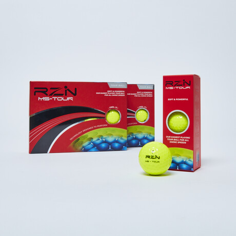 RZN MS-Tour // Pack of 2 // Yellow