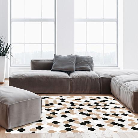 Black N White // Isaac Floor Mat (2' x 3')
