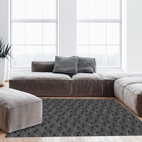 Black N White // Gerard Floor Mat (2' x 3')