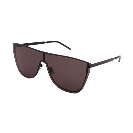Yves Saint Laurent // Unisex SL-1-B Mask 001 Sunglasses // Black