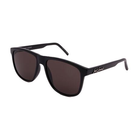 Yves Saint Laurent // Men's SL334-001 Sunglasses // Black