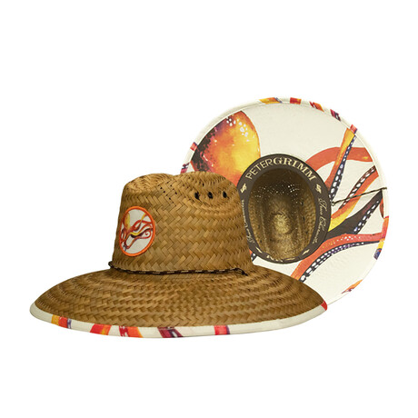 Peter Grimm // Octopus Straw Hat // Natural