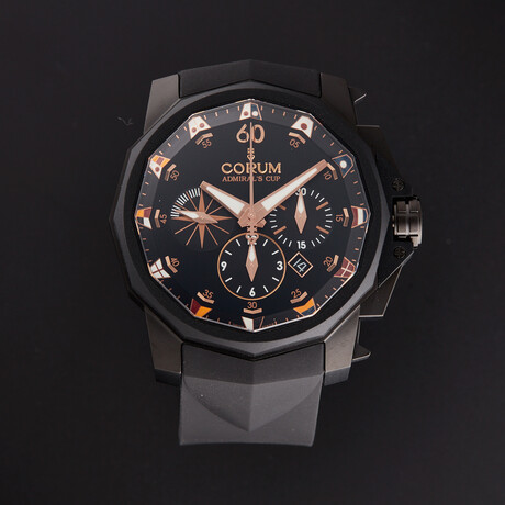 Corum Admiral's Cup Chronograph Automatic // A753/04204 // Unworn