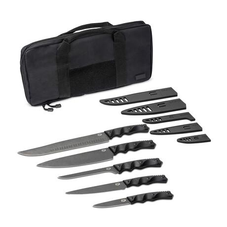 Interceptor Series Nomad Set // Set of 5 Knives + Carrying Case