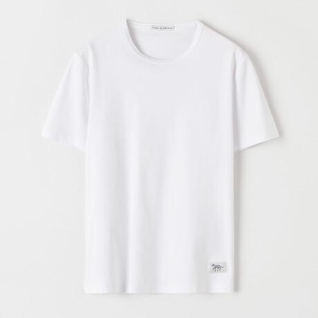 Olaf Short-Sleeve Shirt // Pure White (S)