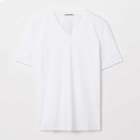 Diyon Short-Sleeve Shirt // Pure White (S)