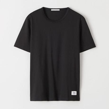 Olaf Short-Sleeve Shirt // Black (S)