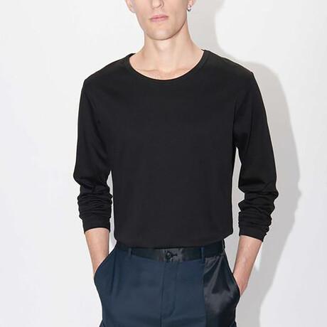 Abalone Long-Sleeve Shirt // Black (S)