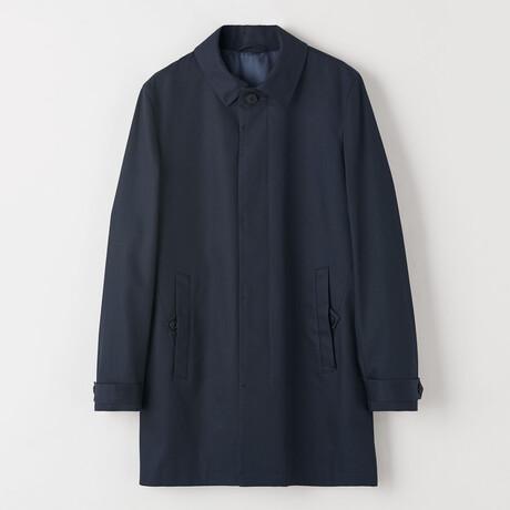 Carred Coat // Light Ink (US: 44R)