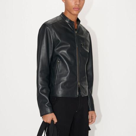 Damir Leather Jacket // Black (S)